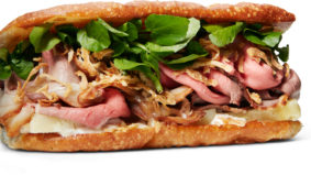 How Donna's makes its anything-but-ordinary roast beef sandwich