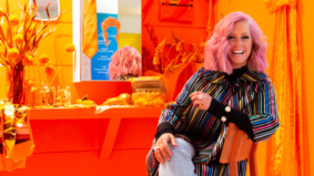 Inside the Colour Club, a new psychedelic rainbow pop-up salon