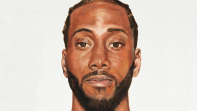 This Toronto artist painted portraits of every Raptors player