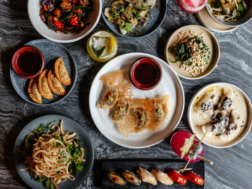 What's on the menu at Planta, the brand's new Queen West location with vegan sushi and dim sum