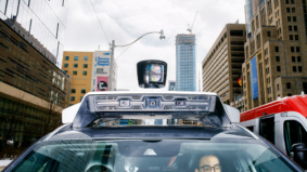 Inside Uber's self-driving car lab