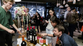 What went down at A Night at the Riojan Market, an evening of Spanish wine and small plates, presented by U-Feast