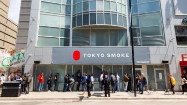 A look inside Tokyo Smoke's new cannabis store at Yonge and Dundas