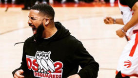 The many faces of courtside Drake