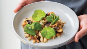 At Ten, chef Julian Bentivegna has bet the farm on veg-forward haute cuisine
