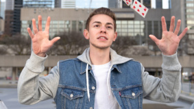 Q&A: Dylan Ballingall, the guy who performs magic tricks outside Raptors games