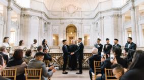 Real Weddings: Inside an intimate affair at San Francisco's City Hall