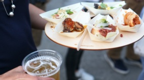 Here's what was served at the Stop's eighth-annual all-you-can-eat-and-drink night market
