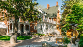 Inside the Merrill House, a beautifully revamped Victorian inn in Prince Edward County