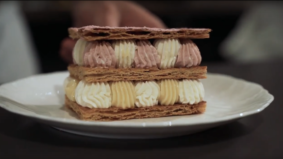 How Alobar Yorkville assembles its masterful mille-feuille