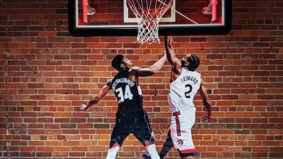Kawhi Leonard fans are creating murals all over the city