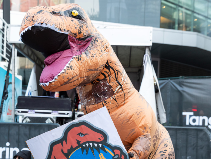 Street Style: The most over-the-top fans at Jurassic Park