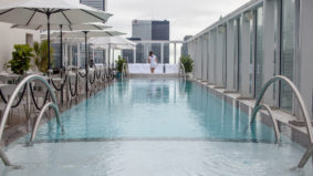 Condo swimming spots: The restaurant-adjacent infinity pool high above King Street