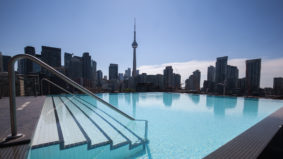 Condo swimming spots: The hidden infinity pool above King Street West