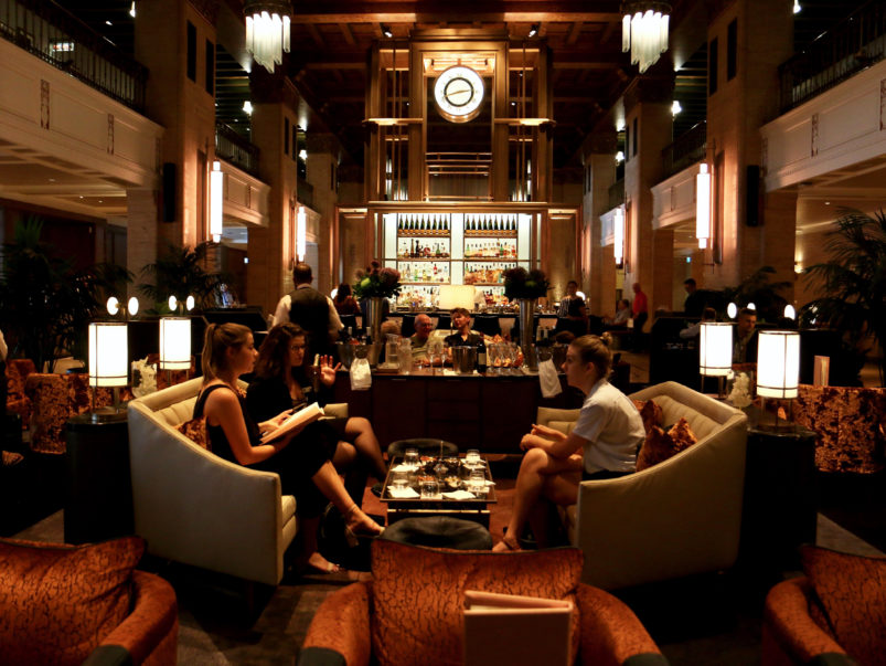What's on the menu at Clockwork, the Fairmont Royal York's new champagne and cocktail lounge