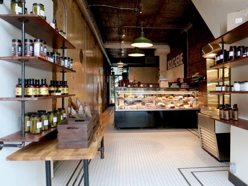 Inside Chantecler Boucherie, the Parkdale restaurant's next-door butcher shop