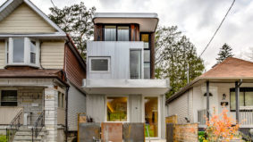 House of the Week: $1.8 million for a modern, metal-clad home on the Danforth