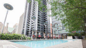 Condo swimming spots: A barbecue-friendly terrace pool at X Condominium