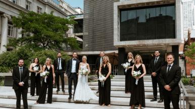 Real Weddings: Inside an elegant celebration at the Gardiner Museum