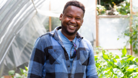 This Etobicoke man ditched his IT job to start a backyard farm