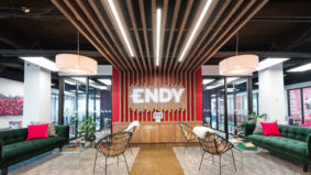 Inside the playful, cozy offices of Toronto-based mattress maker Endy
