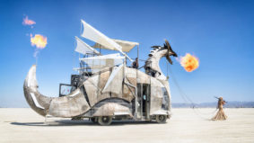 A fire-breathing dragon, a giant jackalope and an ark: the coolest Toronto-made art at Burning Man