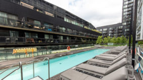Condo swimming spots: A secret oasis in the West Don Lands