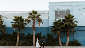 Real Weddings: Inside the lush L.A. celebration of two Toronto-based ballet dancers