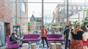 We chatted with guests about creativity in the Color Cannabis lounge at <em>Toronto Life</em>'s Best Dressed event
