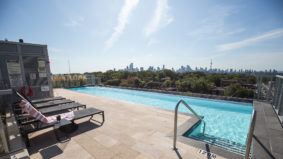 Condo swimming spots: An infinity pool with a view in midtown