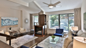 Condo of the Week: $1,049,000 for a Bedford Park townhouse with a private garden