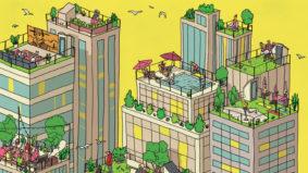 Inside the city's vertical neighbourhoods