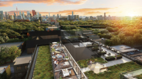 These condos have some very cool outdoor amenities