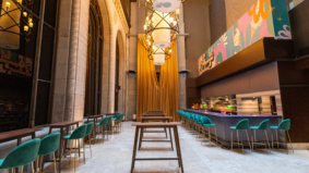 What's on the menu at Supernova Ballroom, the Financial District's stunning new cocktail bar with an anti-waste attitude