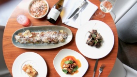 What's on the menu at Pétros 82, the new Greek restaurant and lounge inside Hotel X