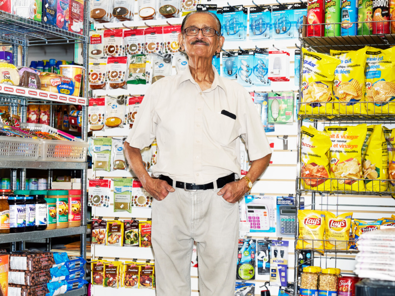 I've been running my condo tuck shop for 41 years