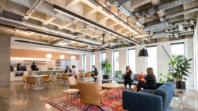 Inside the new offices of multidisciplinary design firm Perkins and Will