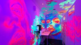 A look inside Graffiti Spot, a Richmond Hill bar plastered in neon street art