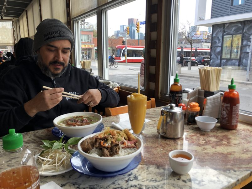 Where chef Steve Gonzalez eats pho, tortas and doughnuts in Kensington Market and Chinatown