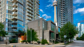 Condo of the Week: $1.8 million for a Harbourfront townhouse with Murphy beds