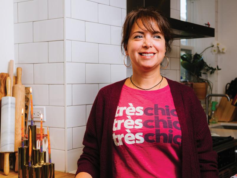How cookbook author Amy Rosen celebrates the holidays