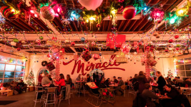 What's on the menu at Miracle on Ossington, a super-seasonal holiday pop-up with egg nog and fire pits