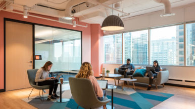 Inside Uber's new Toronto Engineering Hub, with indoor mini putt, e-scooters and kombucha on tap