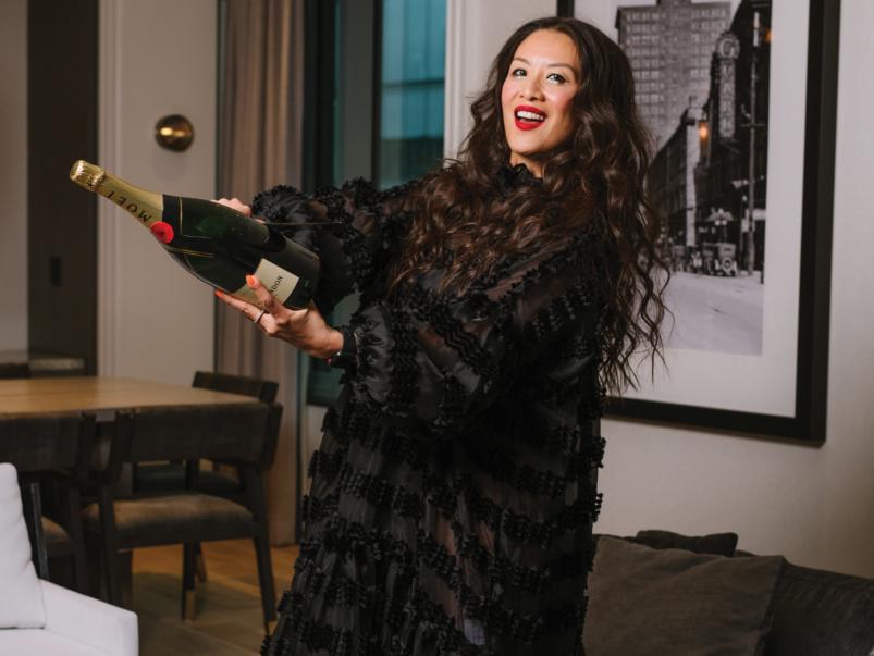 How TV host Lainey Lui celebrates the holidays