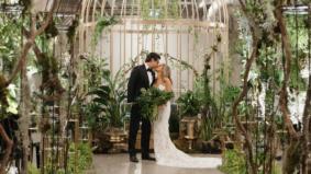 Real Weddings: Inside an elaborate jungle-themed bash at MOCA