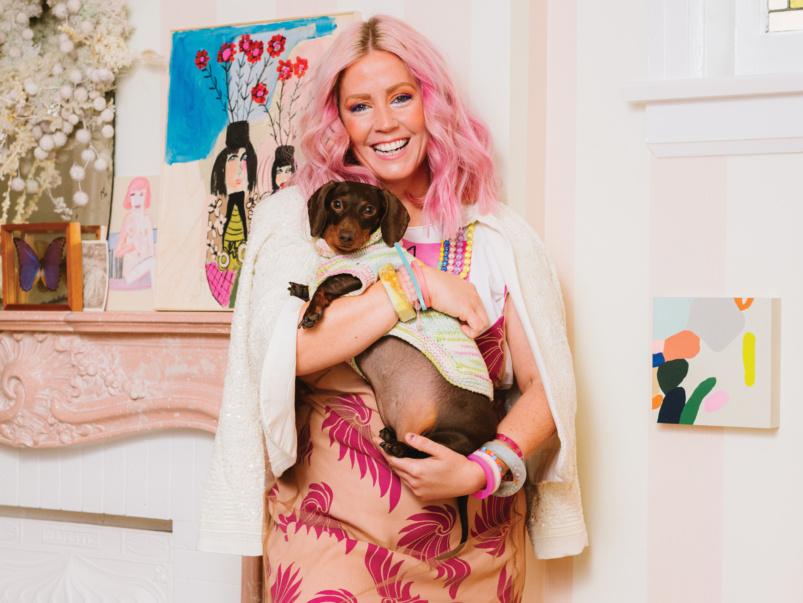 How designer Tiffany Pratt celebrates the holidays