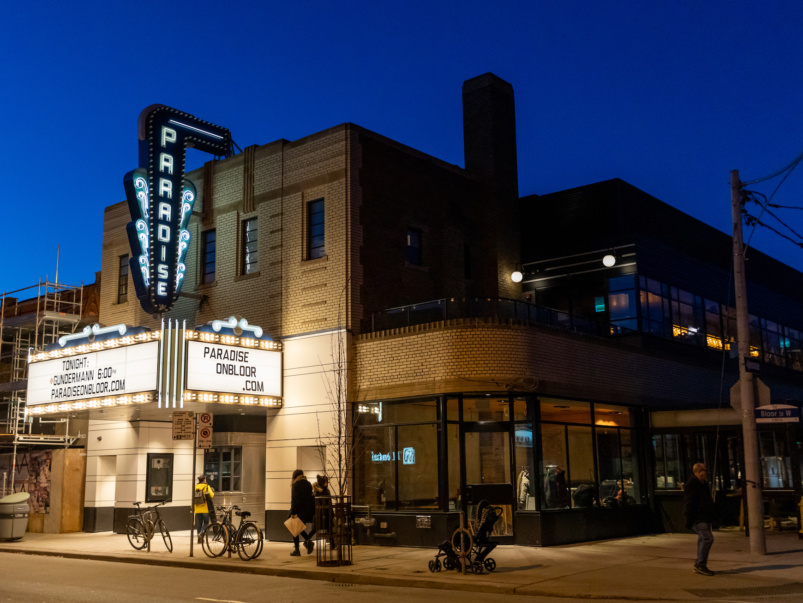 The retro Paradise Theatre on Bloor got a swanky new makeover. Here's a look inside