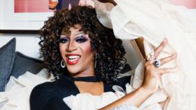 How drag star Tynomi Banks celebrates the holidays