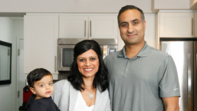 How a family of five lives in 850 square feet