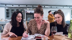 What went down at Alison Roman's <em>Nothing Fancy</em> 15-dish dinner at Donna's Restaurant